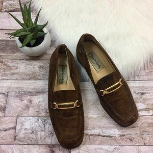 Diane Von Furstenberg Suede Loafers